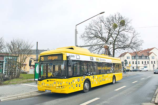Urbino electric in Dresden